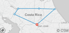 Costa Rica Eco Adventure (End San Jose, 8 Days) - 6 destinations