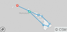 Hawaii Four Island (from Honolulu to Kauai) - 16 destinations