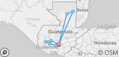 Guatemala Encompassed - 9 destinations