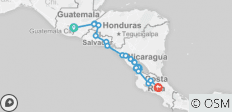 Central American Journey - 21 destinations