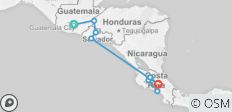 Central American Journey - 10 destinations