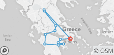 Best of Greece (8 Days) - 12 destinations