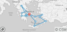 Best of Greece with 4 Day Cruise (12 Days) - 18 destinations