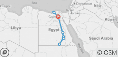 Egyptian Voyager - 11 destinations