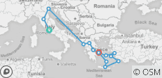 Best of Italy and Greece (14 Days) - 14 destinations