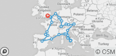 Great European (30 Days) - 33 destinations