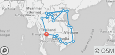 South East Asia Unplugged - 22 destinations