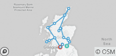 Scotlands Highlands Islands and Cities Summer 2019 - 21 destinations