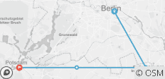Berlin Wall Trail Cycle - 4 destinations