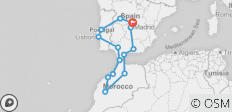 Spain Morocco and Portugal (16 Days) - 14 destinations