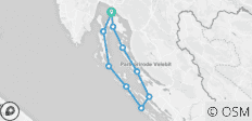 Kvarner Bay Bike & Boat - Deluxe - 10 destinations