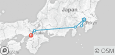 Epic Japan: Speed Trains & Street Food - 6 destinations