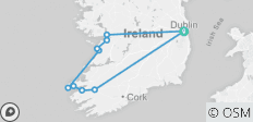 5 Day Spectacular South and West small group Tour of Ireland - 10 destinations
