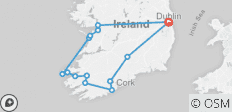 5-Day Spectacular South and West small group Tour of Ireland - 14 destinations