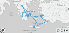 Classical Greece with Iconic Aegean 4-Night Cruise - 21 destinations