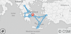 Classical Greece with Iconic Aegean 3-Night Cruise - 20 destinations