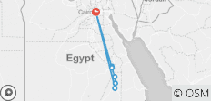 Pyramids & The Nile by Train - 9 destinations