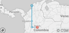 Colombia Express - 5 destinations