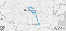 Romania Cycle Explorer - 11 destinations
