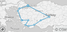Turkey Discovered - 14 Days - 12 destinations