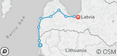 Latvia and Lithuania Cycle Explorer - 9 destinations