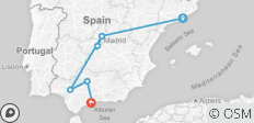 3 Nights Barcelona, 3 Nights Madrid with Toledo, 2 Nights Seville, 1 Night Cordoba & 2 Nights Torremolinos - 8 destinations