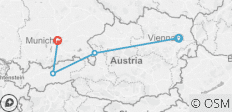 3 Nights Vienna, 2 Nights Salzburg, 2 Nights Innsbruck & 2 Nights Munich - 4 destinations