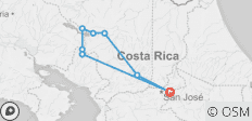 Costa Rica Wonders - 9 destinations