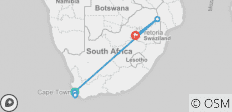 South African Sojourn - 8 destinations