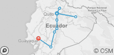 Ecuador Discovery with Ecuador\'s Amazon - 10 destinations