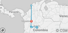 Magical Colombia with Medellin - 8 destinations