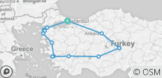 Turkey Classics Tour - 14 destinations