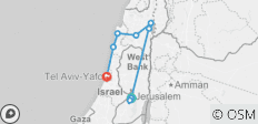 Israel and Beyond National Geographic Journeys - 9 destinations