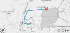 Rwanda & Uganda Gorilla Discovery National Geographic Journeys - 4 destinations