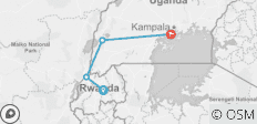 Auf den Spuren der Gorillas in Uganda und Ruanda National Geographic Journeys - 4 Destinationen