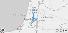 West Bank Package 3 Day Package from Jerusalem - 8 destinations