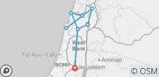 4 Day Northern Israel Package from Jerusalem - 9 destinations