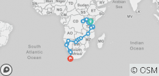 Great African Expedition - 57 days - 27 destinations