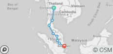 Satay Explorer 16D/15N (from Bangkok) - 8 destinations
