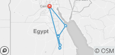 King Ramses - 13 days - 11 destinations