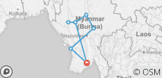 21 Days Myanmar with Chin State Adventure - 8 destinations