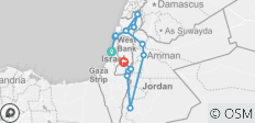 Best of Israel and Jordan - 10 Days - 14 destinations