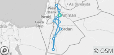 Totally Jordan - 8 Days - 13 destinations