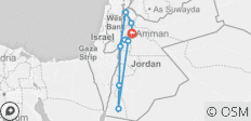 Totally Jordan - 8 Days - 9 destinations
