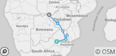 African Insight - Northbound Accommodated 7 Days - 10 destinations