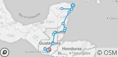 Mexico, Belize & Guatemala Adventure 14D/13N (from Cancun) - 18 destinations