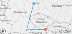 Berlin to Munich and Vienna Tour - 3 destinations