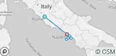 Rome to Naples and Amalfi Coast Adventure - 7 destinations