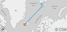 Spitsbergen, East Greenland & Iceland - 3 destinations