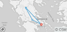 Best of Greece Tour - 5 destinations